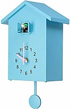 Didad Moderne Oiseau Coucou Quartz Horloge Murale