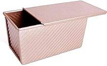 DierCosy Tools Boîte à pain antiadhésive Slide