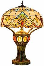 DIMPLEYA Lampe De Chevet, Lampe De Table Tiffany