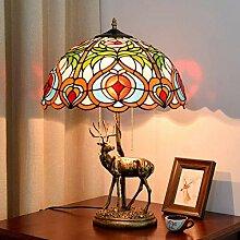 DIMPLEYA Lampe De Chevet, Métal Américain Bronze