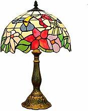 DIMPLEYA Lampe de Table de Style Tiffany 12inches,