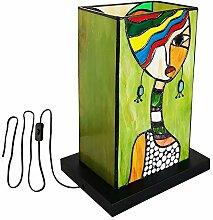 DIMPLEYA Lampe de Table de Style Tiffany Botowi