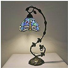 DIMPLEYA Lampe de Table de Style Tiffany de 10