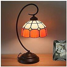 DIMPLEYA Lampe de Table de Style Tiffany de 8