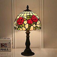 DIMPLEYA Lampe De Table De Style Tiffany Lampe De