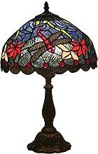 DIMPLEYA Lampe de Table de Table de Style Tiffany