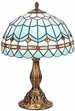 DIMPLEYA Lampe de Table Tiffany de Style Pastoral