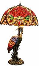 DIMPLEYA Lampe De Table Tiffany De Style Tiffany