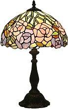 DIMPLEYA Lampe de Table Tiffany Lampe européenne