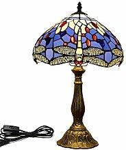 DIMPLEYA Lampe De Table Tiffany-Style Européen
