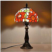 DIMPLEYA Lampes de Table en Style Tiffany,