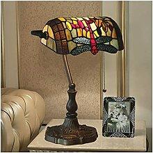 DIMPLEYA Lampes de Table, Style Tiffany Motif de