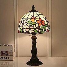 DIMPLEYA Lampes De Table Tiffany 8 Pouces Vintage
