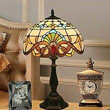 DIMPLEYA Lampes tachées Lampes de Table Tiffany