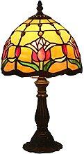 DIMPLEYA Mini Lampe de 8 Pouces Tiffany Style