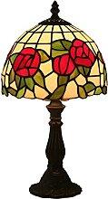 DIMPLEYA Mini Rose Rose Vert Lampe de Table