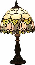 DIMPLEYA Tiffany Glass Table Lampe Chambre Enfants