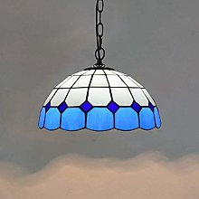 DIMPLEYA Tiffany Style Pendentif Lumière Chaude