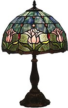 DIMPLEYA Tiffany Style Table Lampe Chambre à