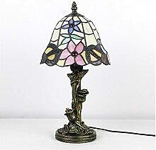 DIMPLEYA Tiffany Table Lampe de Chevet Bedroom