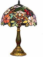 DIMPLEYA Tiffany Table Lampe Vintage Pastorale