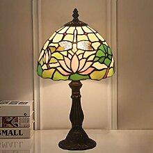 DIMPLEYA Tiffany Table Table Lampe Vintage Lampe