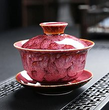 DINGM 170 ML Gaiwan céramique pigmentée Bol à