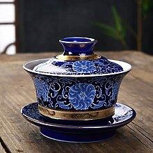 DINGM Ensemble de Bol de Tasse en Porcelaine de