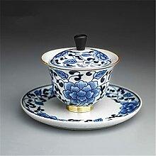 DINGM Jilan céramique Kung Fu Ensemble de thé