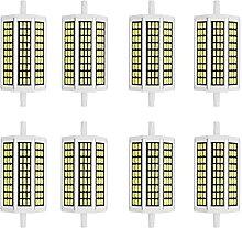 DINGXB Ampoule LED R7S 118mm 10W Dimmable 85V-265V