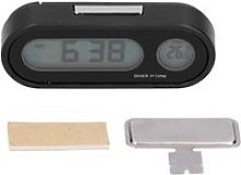 Dioche horloge de voiture Thermomètre de voiture
