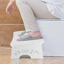 Dioche tabouret de pied PVC salle de bain toilette