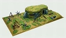 Diorama 1/72 : bunker et accessoires
