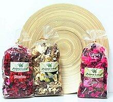 Direct Global Pot-pourri 3 x 80g - Vanille Rose