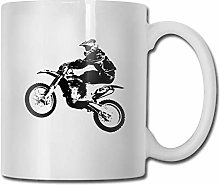 Dirt Bike - cadeau de motocross tasse à café
