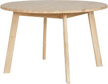 Disc - Table à manger ronde chêne massif ø120cm