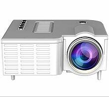 DishyKooker Mini vidéoprojecteur, Home Cinéma,