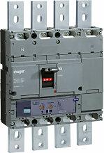 Disjoncteur boîtier moulé h1000 4P 50kA 1000A