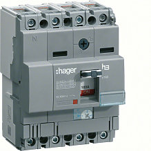 Disjoncteur boîtier moulé x160 4P 25kA 25A