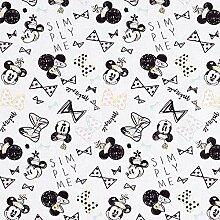 Disney cretonne Minnie Nœuds – blanc — Vendu