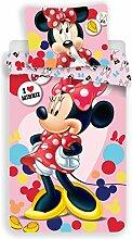 Disney Minnie Pink Parure de lit Housse de Couette