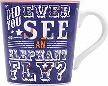 Disney MUGBDC03 Mug isotherme en céramique Dumbo