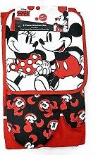 Disney Oven Mitt Pot Holder& Dish Towel 3 pc