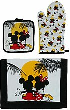 Disney Sunset Design Mickey and Minnie Mouse