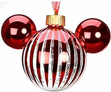 Disneyland Paris Boule de Noël lumineuse en verre