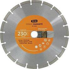 Disque diamanté polyvalent bricolage SCID -