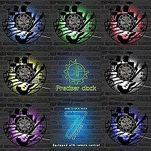 Disque Vinyle Horloge Murale Atelier de