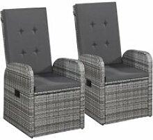 Distingué sièges de jardin famille kingston