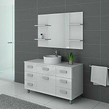 Distribain - Meuble de salle de bain IMPERIAL Blanc