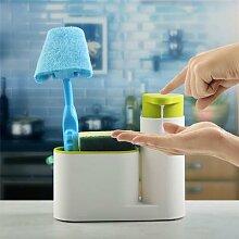 Distributeur de savon en forme d'évier,